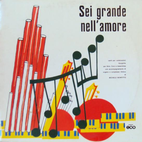 """Copertina LP """"Sei grande nell'amore"""""""
